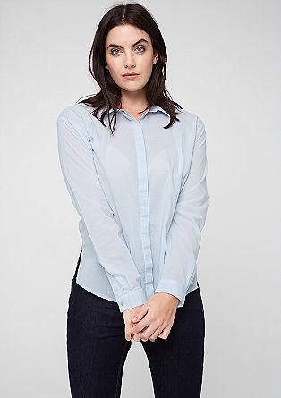 Bluse in frischem Farbton