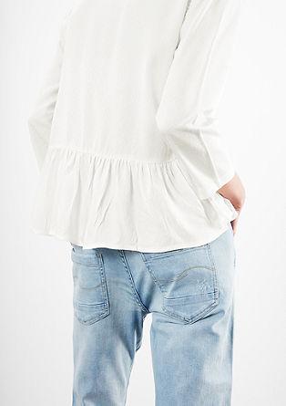 Bluse mit Schößchen