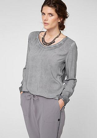 Bluse mit Wascheffekt