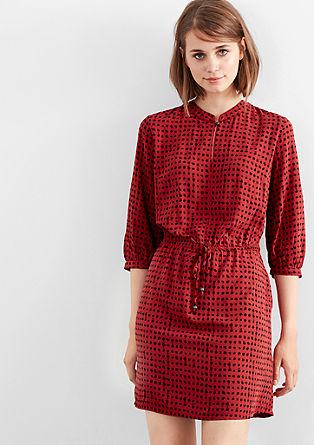 Blusenkleid mit Allover-Print