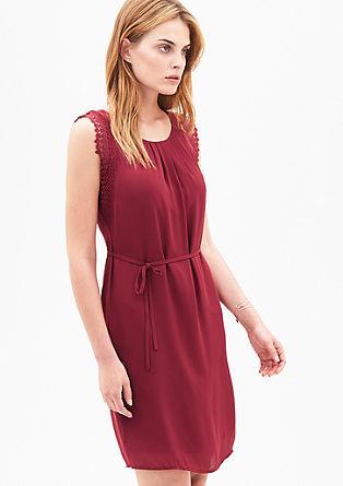 Blusenkleid mit edler Spitze