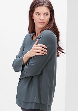 Blusenshirt im Lagenlook