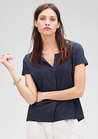 Blusenshirt mit edlem Ausschnitt