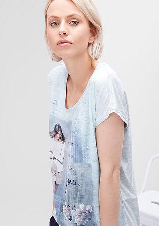 Blusenshirt mit Fotoprint