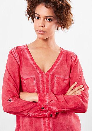 Bluza, barvana s hladnim postopkom pigmentiranja
