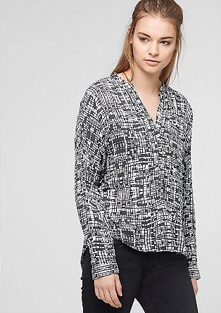 Bluza s potiskom po celotni površini