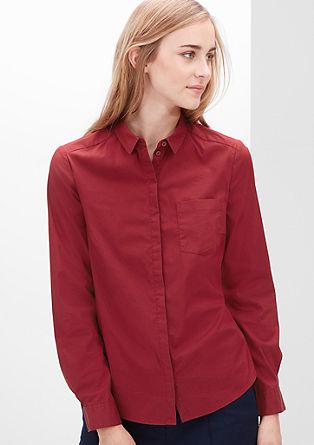 Bluza s skritimi gumbi