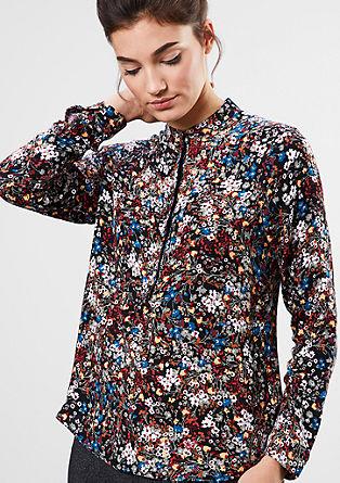 Bluza s tiskom po celotni površini