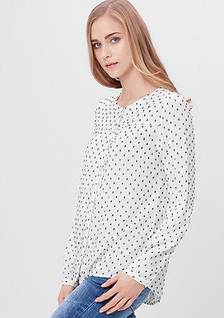 Bluza s tkanim vzorcem