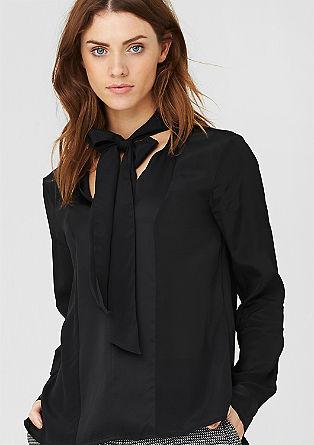 Bluza s trakcema iz svile