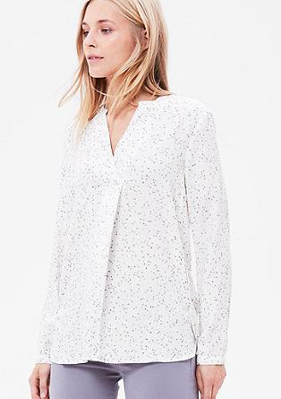Bluza v slogu tunike z zvezdicami