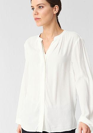 Bluza z detajlom v videzu nakita