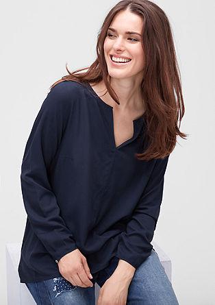 Bluza z drobnim žakardskim vzorcem