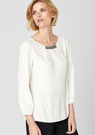 Bluza z okrasnimi kamenčki