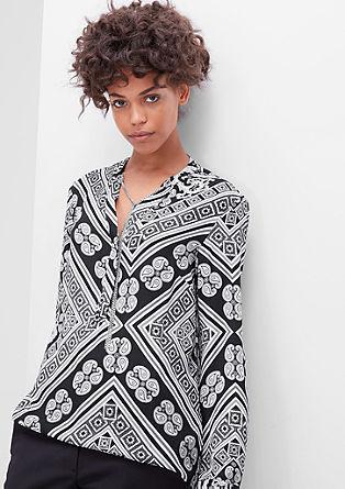 Bluza z vzorcem paisley