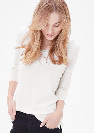 Bluzna majica, okrašena