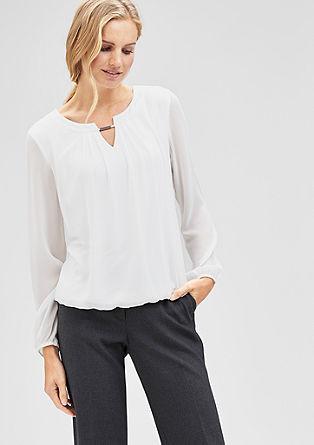 Bluzna majica s kovinskim detajlom