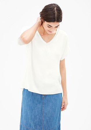 Bluzna majica s svetlečimi detajli