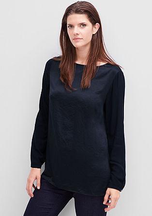 Bluzna majica v svilenem videzu