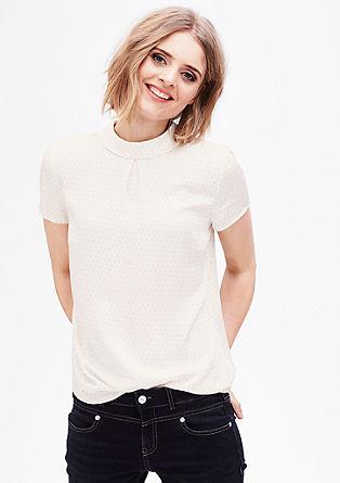 Bluzna majica z vzorcem po celotnem oblačilu