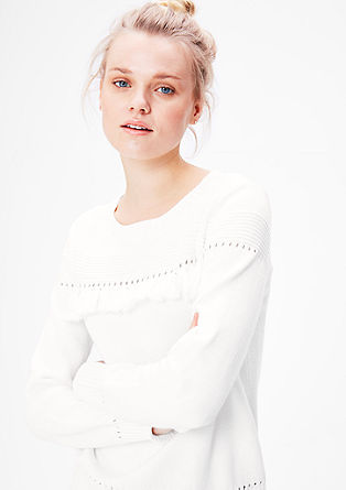 Boho-style knit jumper from s.Oliver