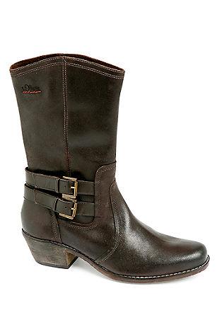 Boots met een cowboy look