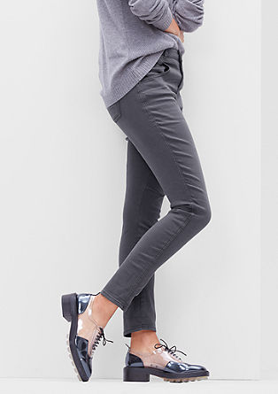 Bowleg: Colored Stretch-Jeans