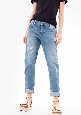 Bowleg: jeans z aplikacijami