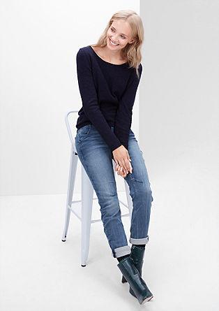 Bowleg: športne jeans hlače