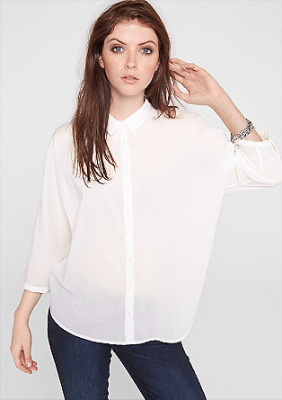 Boxy, oversized blouse from s.Oliver
