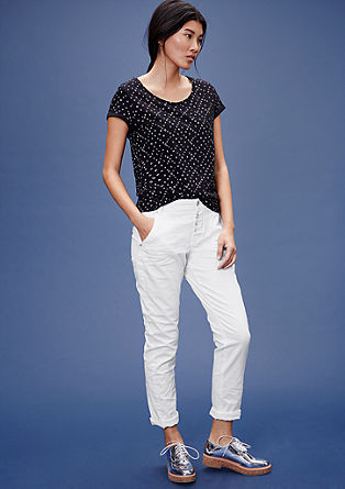 Boyfriend: cool coloured jeans from s.Oliver
