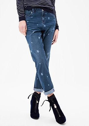 Boyfriend: jeans met sterretjes