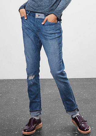 Boyfriend: vintage stretch jeans from s.Oliver