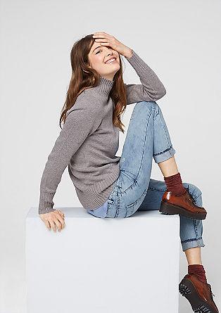Boyfriend fit: Glamoureuze jeans met een used look