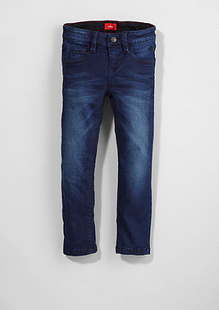 Brad: Dark Blue Stretch-Jeans