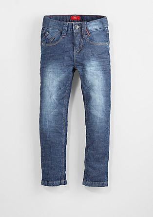 Brad: Jeans hlače z zmečkanimi gubami