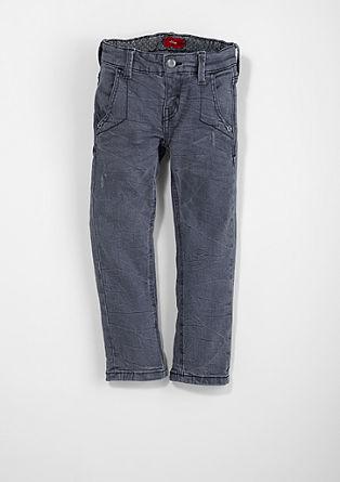 Brad: Jeans im Crinkle-Look