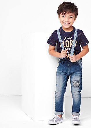 Brad: jeans met bretels