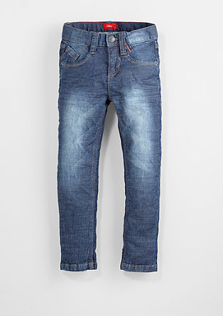 Brad: Jeans with creased effects from s.Oliver
