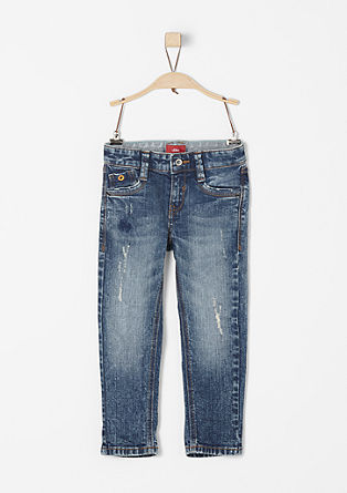 Brad: Markante Used-Jeans