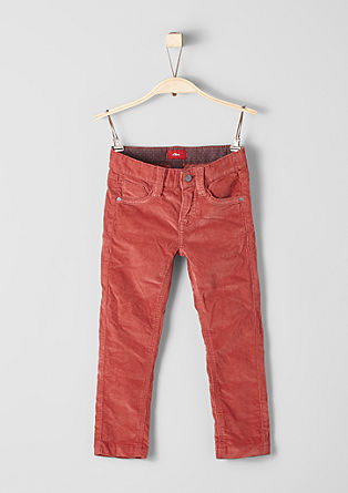 Brad: stretch corduroy trousers from s.Oliver
