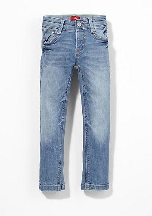 Brad: svetle raztegljive jeans hlače