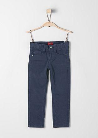 Brad Slim: hlače s teksturo rebrastega žameta