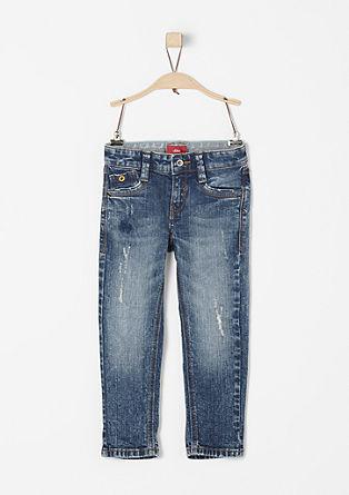 Brad Slim: Jeans hlače v obrabljenem videzu