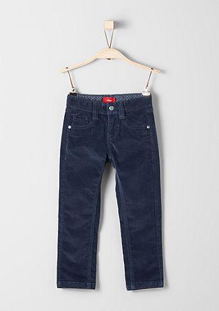 Brad Slim: raztegljive žametne hlače