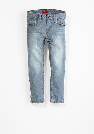Brad Slim: Striped jeans from s.Oliver