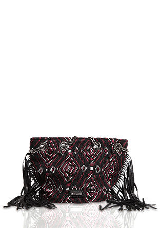 Bucket bag with fringing from s.Oliver