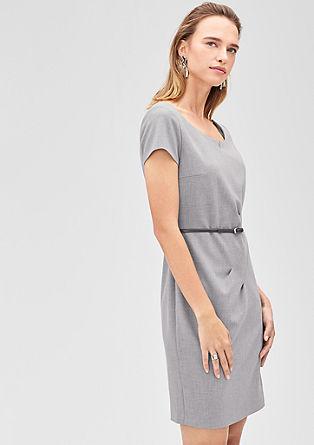Business jurk met geplooid detail