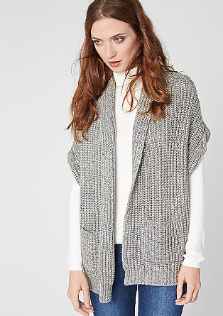 Cable knit waistcoat from s.Oliver