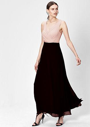 Cache Coeur-Kleid aus Chiffon